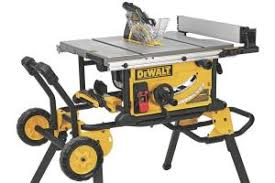 dewalt dwe7491rs jobsite table saw jlc online saws jobsite