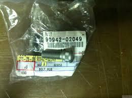 toyota lexus vin decoder one 1 oem toyota scion lexus 90942 02049 wheel lug stud vin