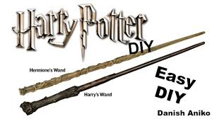 wizard costume wand diy harry potter wands easy and fast last minute halloween