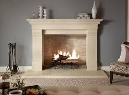 modern stone fireplace binhminh decoration