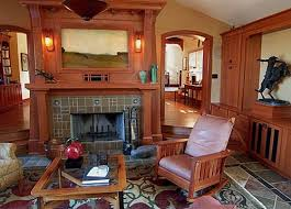 arts and crafts homes interiors 290 best arts crafts images on craftsman bungalows