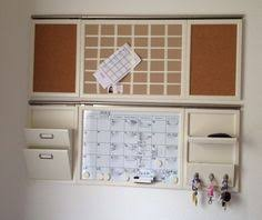 pottery barn organizer 1 monthly calendar 2 pin board 3 weekly