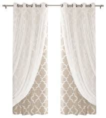 Beige And White Curtains Beige Curtains Free Home Decor Techhungry Us