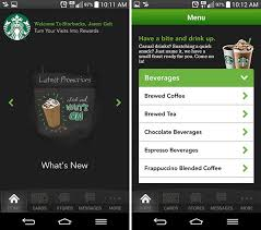 starbucks app android starbucks malaysia releases official app for iphone android