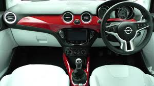 opel adam interior opel adam rocks 1 0l turbo review changing lanes