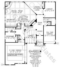 southwestern style house plans casa asoleada house plan house plans by garrell associates inc