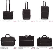 tumi luggage sale at ruelala the points