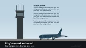 airport infographic a powerpoint template from presentermedia com