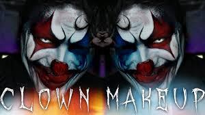 crazy clown halloween makeup tutorial shaaanxo 31 days of