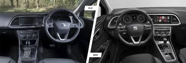 seat leon leon sc u0026 leon st facelift old vs new carwow