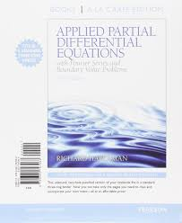 applied partial differential equations with fourier series and