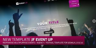 template joomla k2 jf event up a responsive multipurpose events and agency joomla