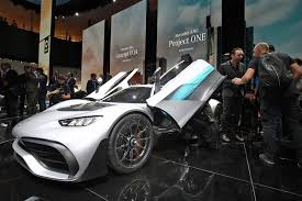 mercedes frankfurt mercedes amg project one revealed the hypercar by car