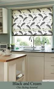 janet spots the perfect blind for her red kitchen web blinds