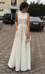 ivory charming prom dress long prom dresses cheap prom dresses