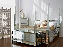 Mirrored Canopy Bed New Decoration Mirrored Bedroom Furniture U2013 Matt And Jentry Home