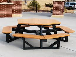How To Build A Wooden Octagon Picnic Table by Wood Octagon Picnic Table The Advantageous Octagon Picnic Table