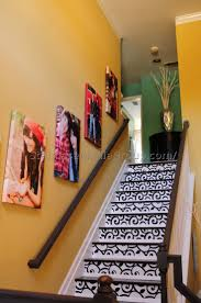 Decorating Staircase by Wall Ideas Stair Wall Decor Pictures Basement Stair Wall
