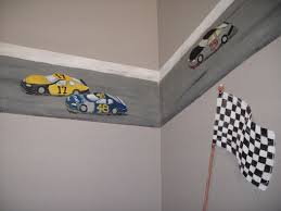 childrens painted wall murals cathie s murals childrens painted wall murals race cars
