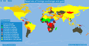 Lebanon World Map by Reserves Of Foreign Exchange And Gold Lebanon