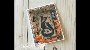 7 days of halloween day 5 vintage halloween cards youtube
