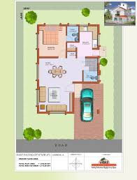 duplex house plan for north facing plot 22 feet by 30 3