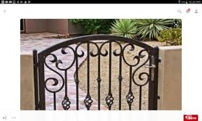 iron gates paint color