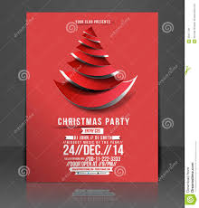 awesome free printable christmas party flyer templates