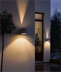 Outdoor Lighting Effects Cylindrical Wall Light With Fan Effect Verlichting Pinterest