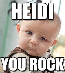 Heidi Meme - heidi sceptical baby meme on memegen