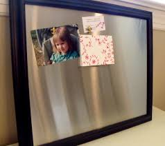Magnetic Bulletin Board Large Framed Magnetic Bulletin Board Memo Board Stainless Steel