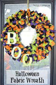 Halloween Decorations To Make At Home Best 25 Fabric Wreath Ideas On Pinterest Fabric Wreath Tutorial