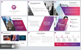 minimal free business powerpoint template just free slides
