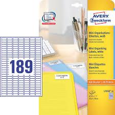 zweckform design pro 4 725 avery zweckform etiketten l7658 25 weiß zum schnäppchenpreis
