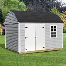 8 u0027 x 10 u0027 vinyl siding heritage shed with installation