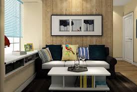 Wood Wall Living Room Living Room Diy Wood Walls Brown Fabric Cushions Gray Wooden