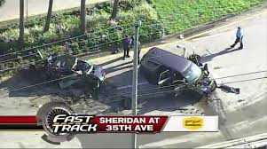 police investigate two car collision in hollywood u2013 wsvn 7news