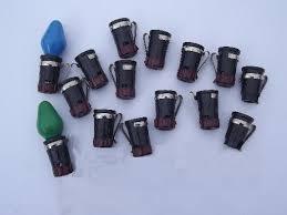 bakelite light bulb sockets for vintage noma tree lights