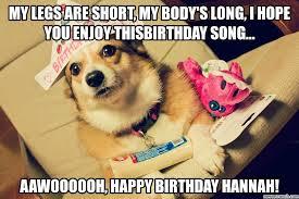 Corgi Birthday Meme - image jpg