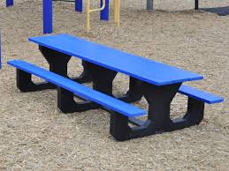 Recycled Plastic Furniture Recycled Plastic Picnic Tables Home Furniture Blog How To