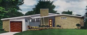 contemporary ranch house 51 mid century modern house plans free 2br homes l 305541cf7e7
