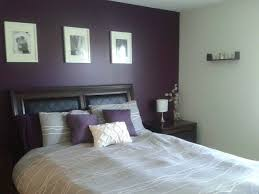 Grey Wall Bedroom Best 25 Purple Accent Walls Ideas On Pinterest Purple Bedroom