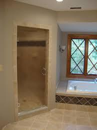 Single Frameless Shower Door Enchanting Single Shower Doors With Single Shower Doors Shower