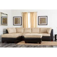 mccreary sectional sofa amusing abbyson living beige sectional sofa and ottoman 22