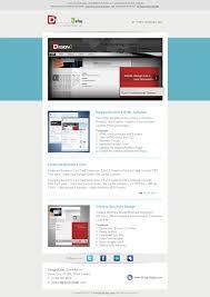 elegant email template design3edge com