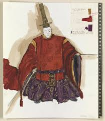 Ballard Design Art From Set Models To Costume Drawings Library Of Congress Showcases