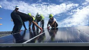 install solar la staff installed solar panels with grid alternatives