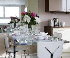 london dinner table setting dining room contemporary with taupe
