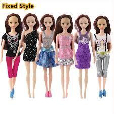 aliexpress buy fixed rock 6 pcs doll fashion cool suit