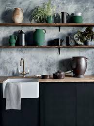 graphite chalk paint kitchen cabinets what are some of the trends in kitchen renovations in